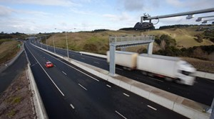 The NZTA has introduced electronic tolling on the Northern Gateway Toll Road.